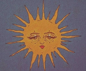 sun, aesthetic, and art image