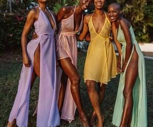 black women, bright, and girls image