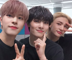 hyunjin, seungmin, and i.n image