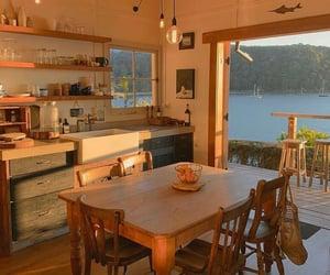 kitchen, room, and sea image