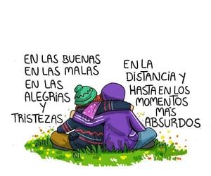 amigos, vida, and amistad image