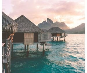adventure, sunset, and travel image