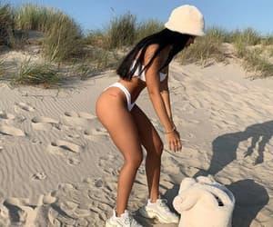bikini, girl, and beauty image