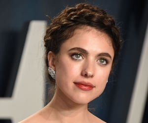 actress, party, and margaret qualley image