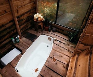 bathroom, autumn, and cozy image