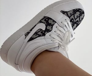 nike, dior, and sneakers image
