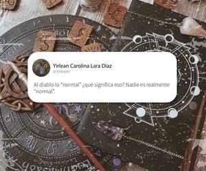 diablo, letras, and español image