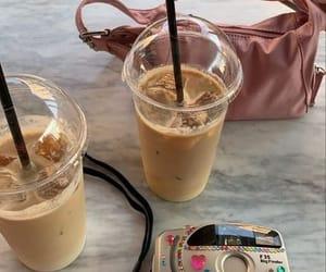 bag, cafe, and coffee image