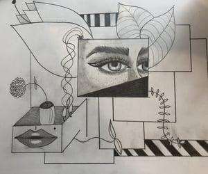 art, black, and inspiration image