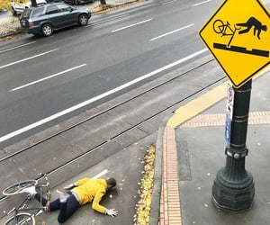 bicycle, photography, and wipeout image