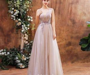 pink dress, formal dresses, and charming dress image
