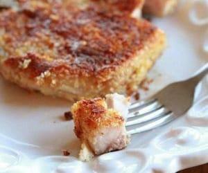 panko, parmesan, and pork chops image