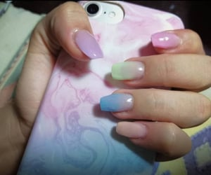 nail art, nails, and acrylic nails image