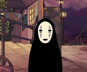 wallpaper, no face, and spirited away image
