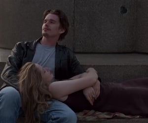 love, couple, and before sunrise image