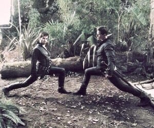 behind the scenes, neverland, and once upon a time image