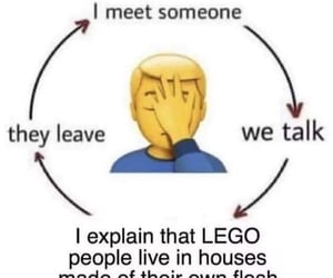 comedy, lego, and meet image