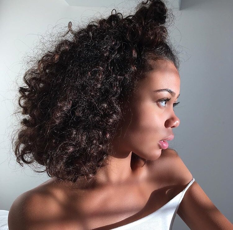 accessories, beauty, and bun image