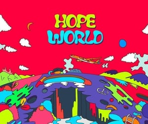 hope, bts, and hoseok image