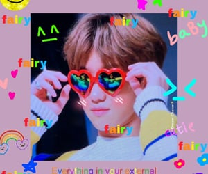 colorful, svt, and myungho image
