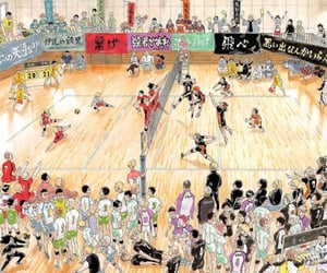 anime, kageyama, and oikawa image