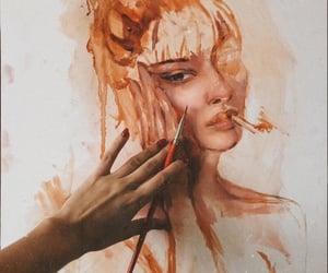 art, women, and female image