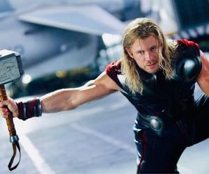 Avengers, chris hemsworth, and thor image