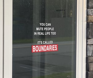 mute, boundaries, and advices image