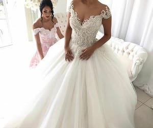 boho wedding dresses, wedding gown, and simple wedding dresses image