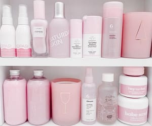 pink, beauty, and glossier image