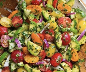 avocado, colors, and cook image