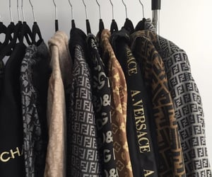 fashion, Versace, and chanel image