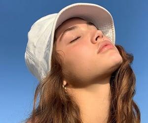 girl, sky, and pfp image