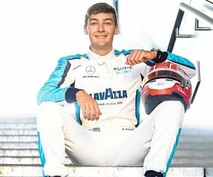 george russell and williams racing image