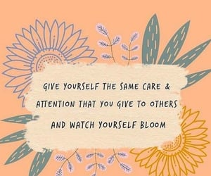 quotes, words, and self care image