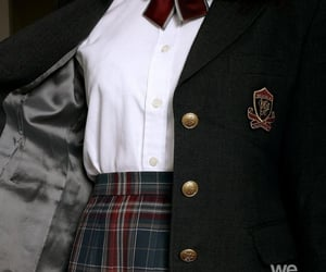 school, aesthetic, and uniform image