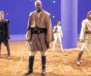 Anakin Skywalker, attack of the clones, and samuel l jackson image