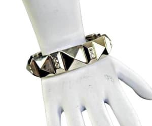 etsy, rhinestone jewelry, and rocker jewelry image