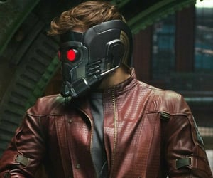 peter quill, Marvel, and chris pratt image