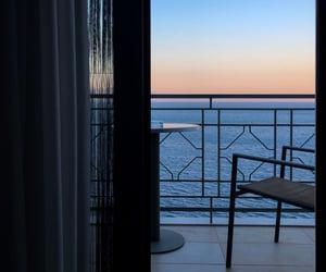 balcony, beautiful, and evening image