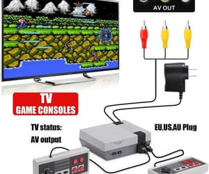 video games, wireless controller, and video game console image