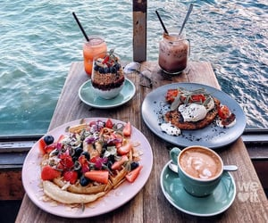 food, summer, and breakfast image