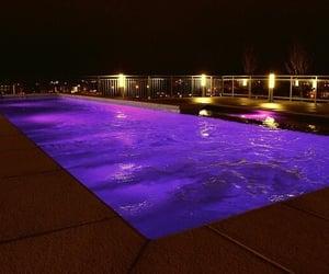 purple and pool image