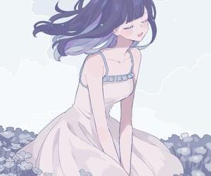 anime, art, and girl image