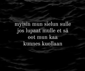 finnish, Lyrics, and sanoja image