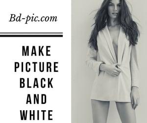black, white, and black n white image