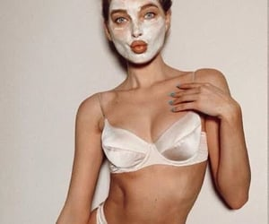 beauty, elsa hosk, and fashion image