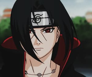 anime, gif, and itachi image