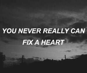fix, heart, and never image