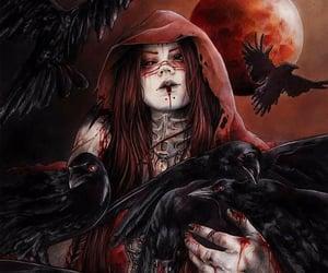 badass, blood, and dark image